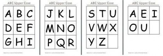 Free Printable Alphabet Flash Cards  Alphabet Flash Cards