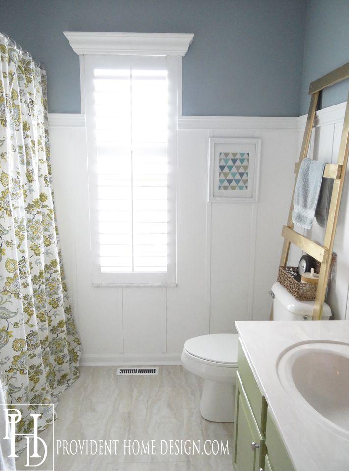 Benjamin Moore Buxton Blue bathroom paint color - site shows paint ...