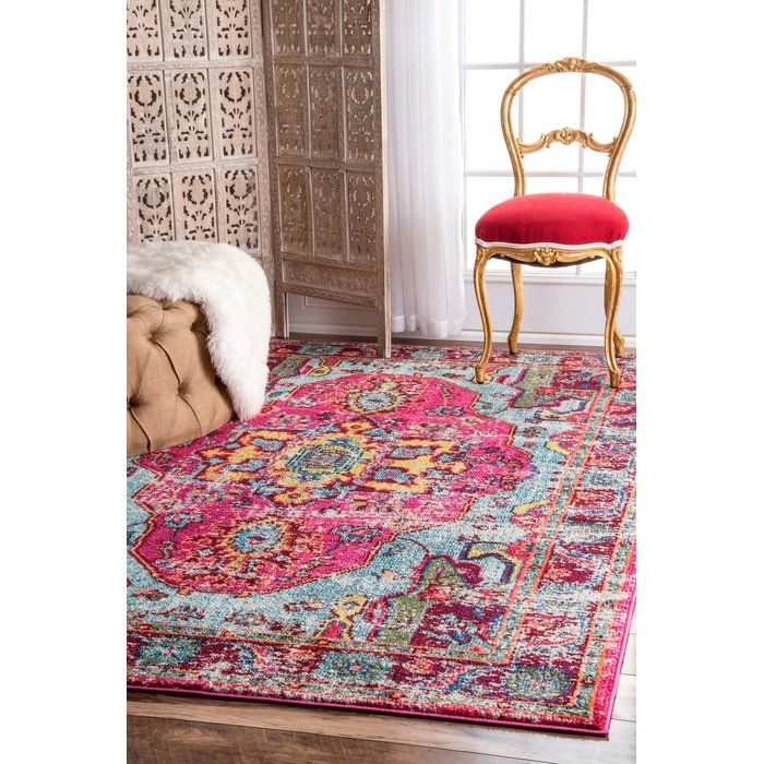 Aliyah Pink Area Rug | Cookware, Budgeting and Living rooms