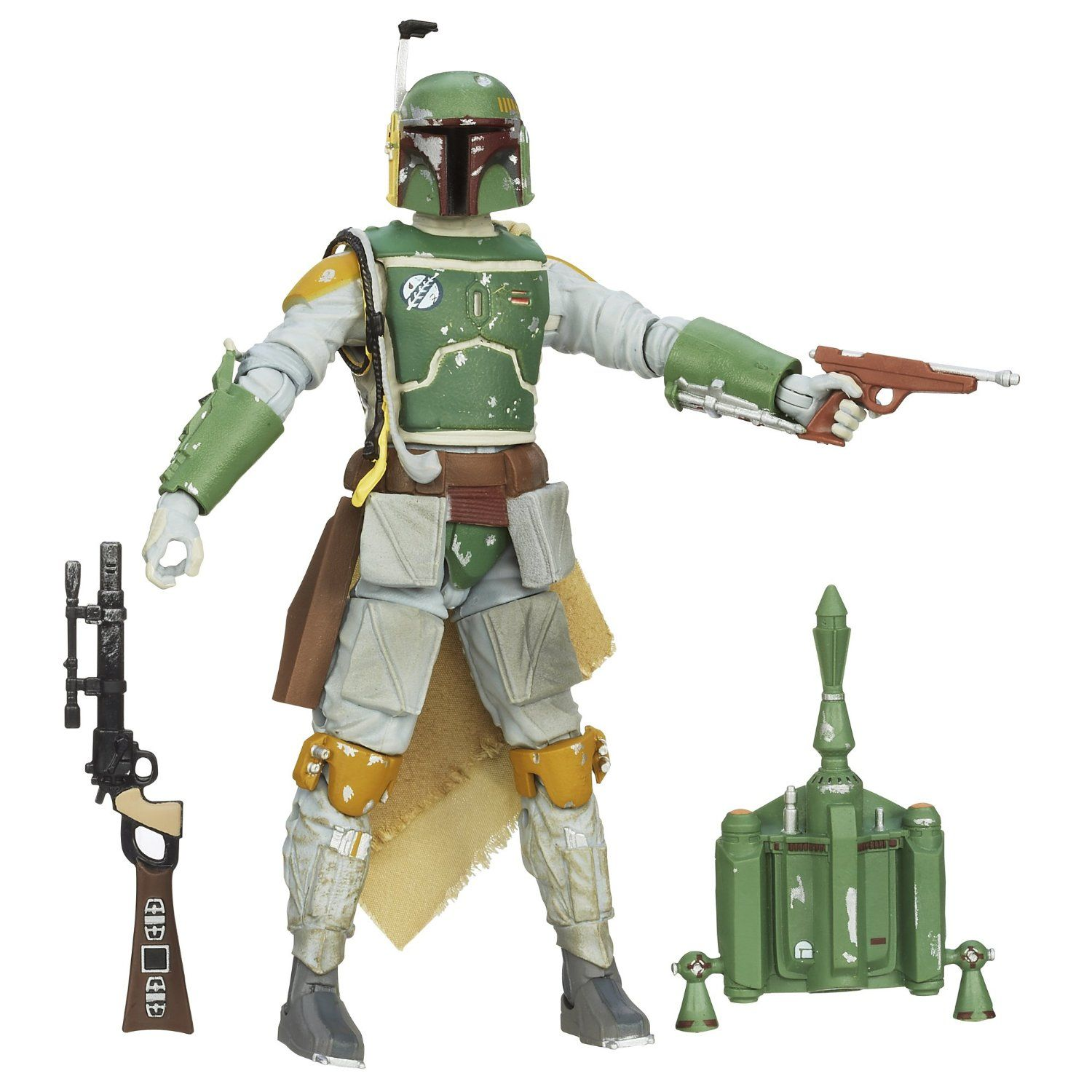 Amazon.com: Star Wars The Black Series Boba Fett Figure 6 Inches: Toys & Games