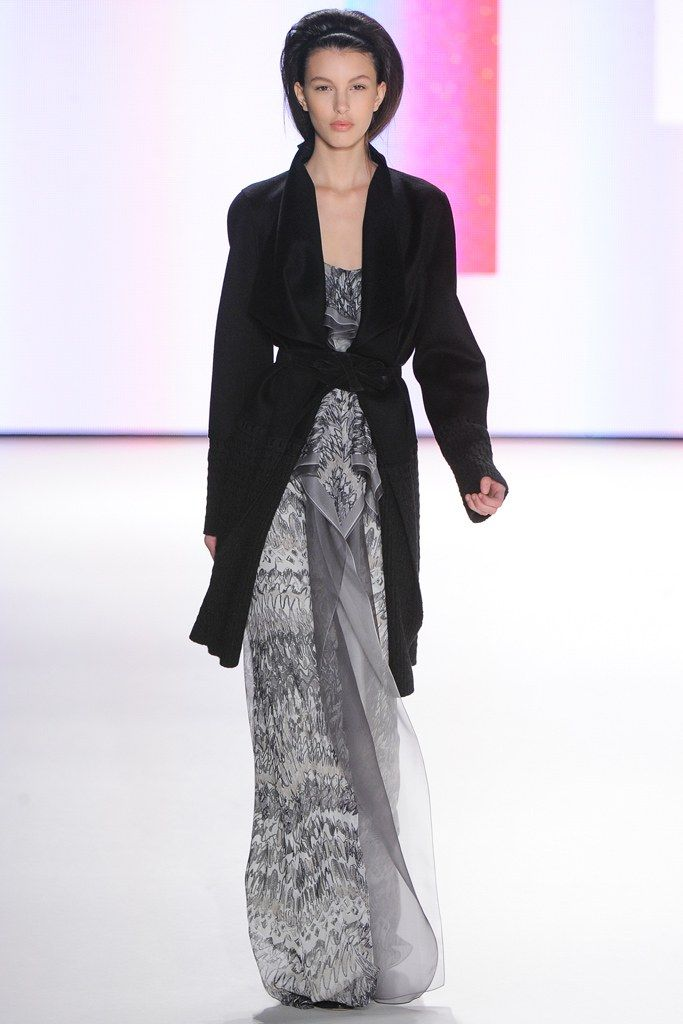 Carolina Herrera Fall 2012 Ready-to-Wear Fashion Show - Kate King