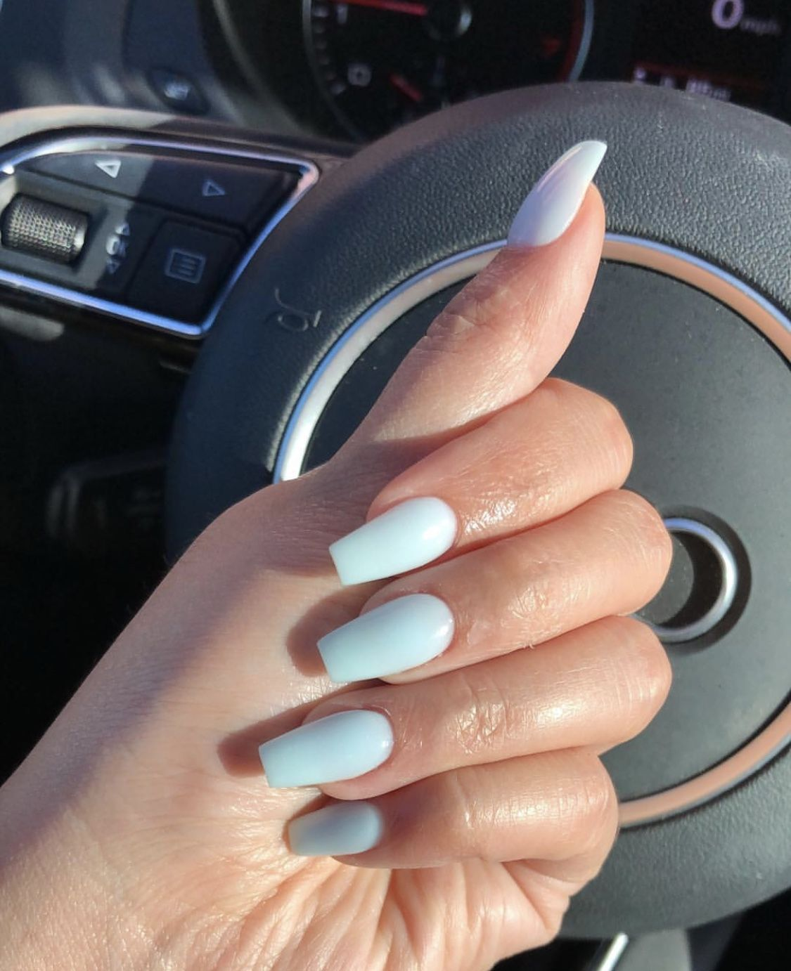 Baby Blue Dip Powder Dip Nail Colors