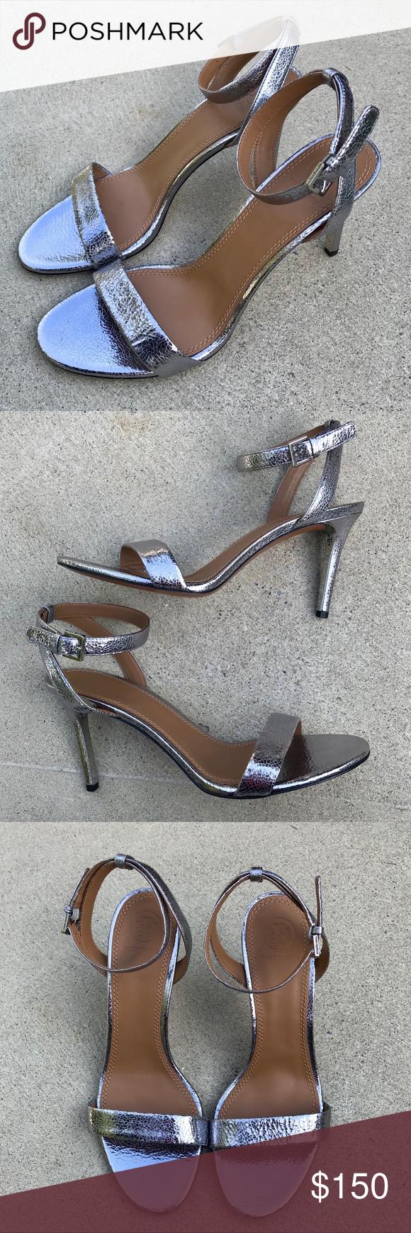 ea987462375 Tory Burch Elana 85mm Heels Pre-owned Tory Burch Elana 85mm Sandal Heels. US
