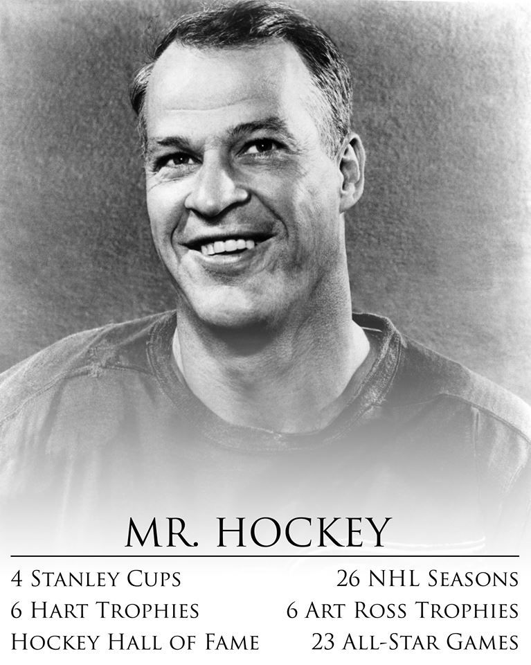 Gordie Howe: Goodbye to a Detroit Red Wings and NHL legend. Rest Easy Howe #9