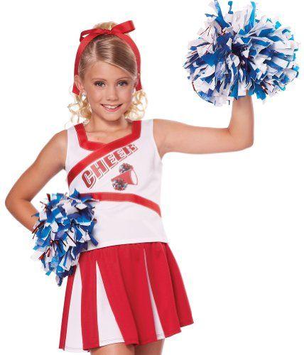 California Costumes High School Cheerleader Child Costume Halloween Costumes For Girls Cheerleader Costume Girls Cheerleader Costume