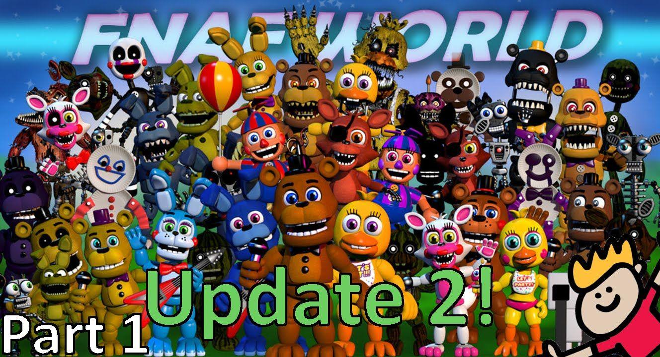 update 2 fnaf world