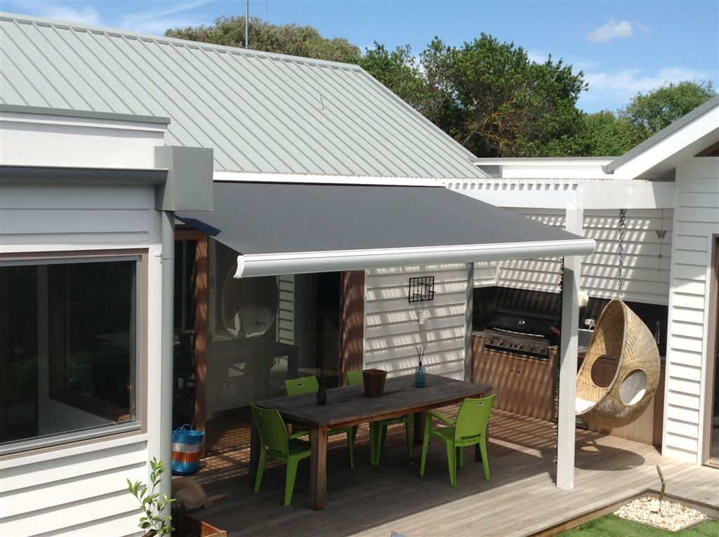 Quality Full Cassette Custom Made Retractable Awnings Roofs And Canopy To Order Using Premium Parts