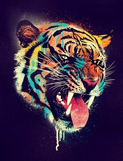 Tiger #art