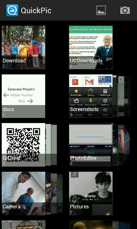 Quickpic - Best gallery app  Light weight, faster, featured  Exclude