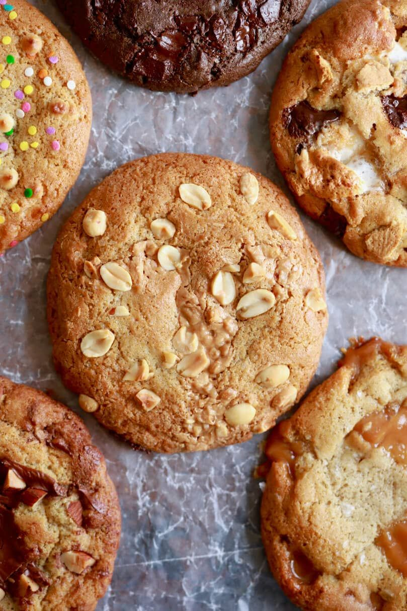 Crazy Cookie Dough One Cookie Recipe With Endless Flavor Variations Recipe Crazy Cookies