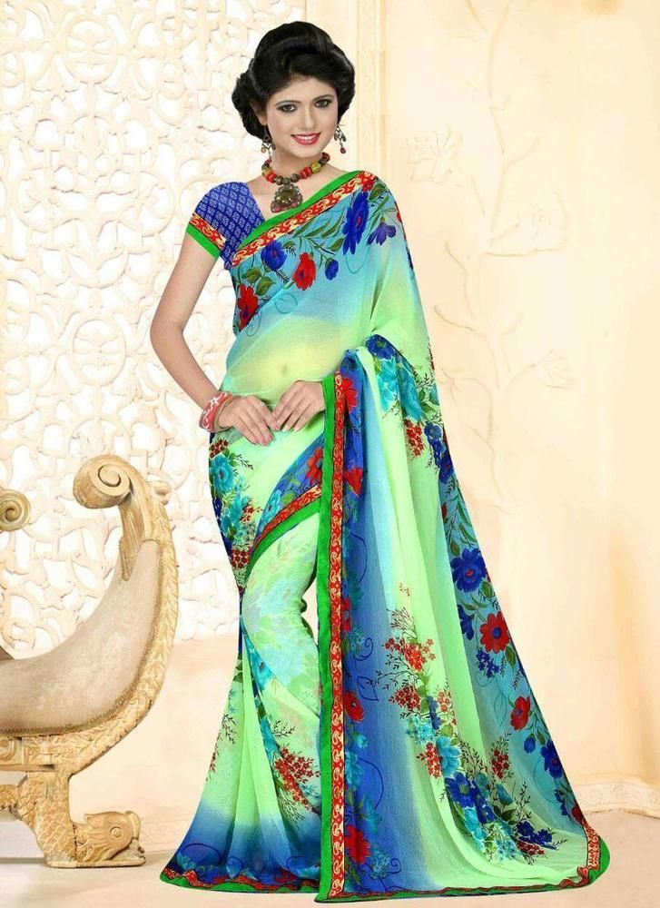 Buy 1 Get 1 Free Indian Partywear Sari Bollywood Dress Ethnic Pakistani Designer #KriyaCreation