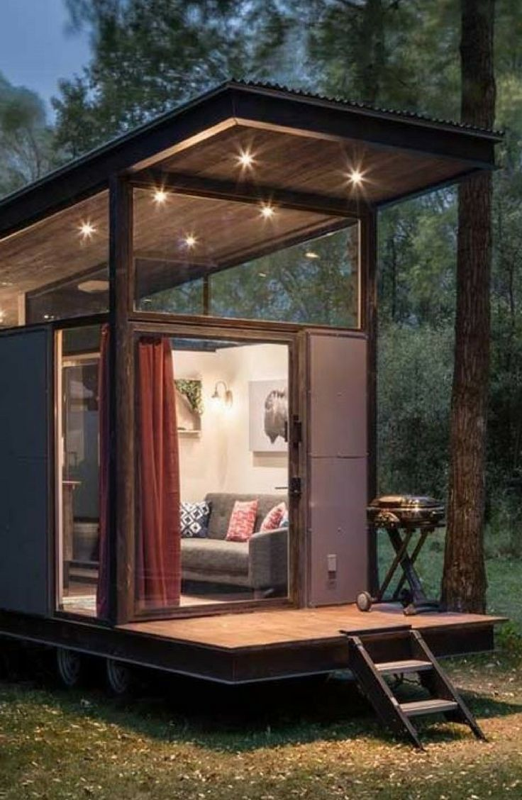 This Tiny Cabin In The Redwoods Is The Perfect Getaway For: Extraordinary Tiny House Rental For Couples Near Jackson