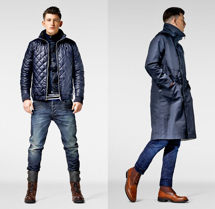 G Star RAW 2013 2014 Winter Mens Lookbook: Designer Denim