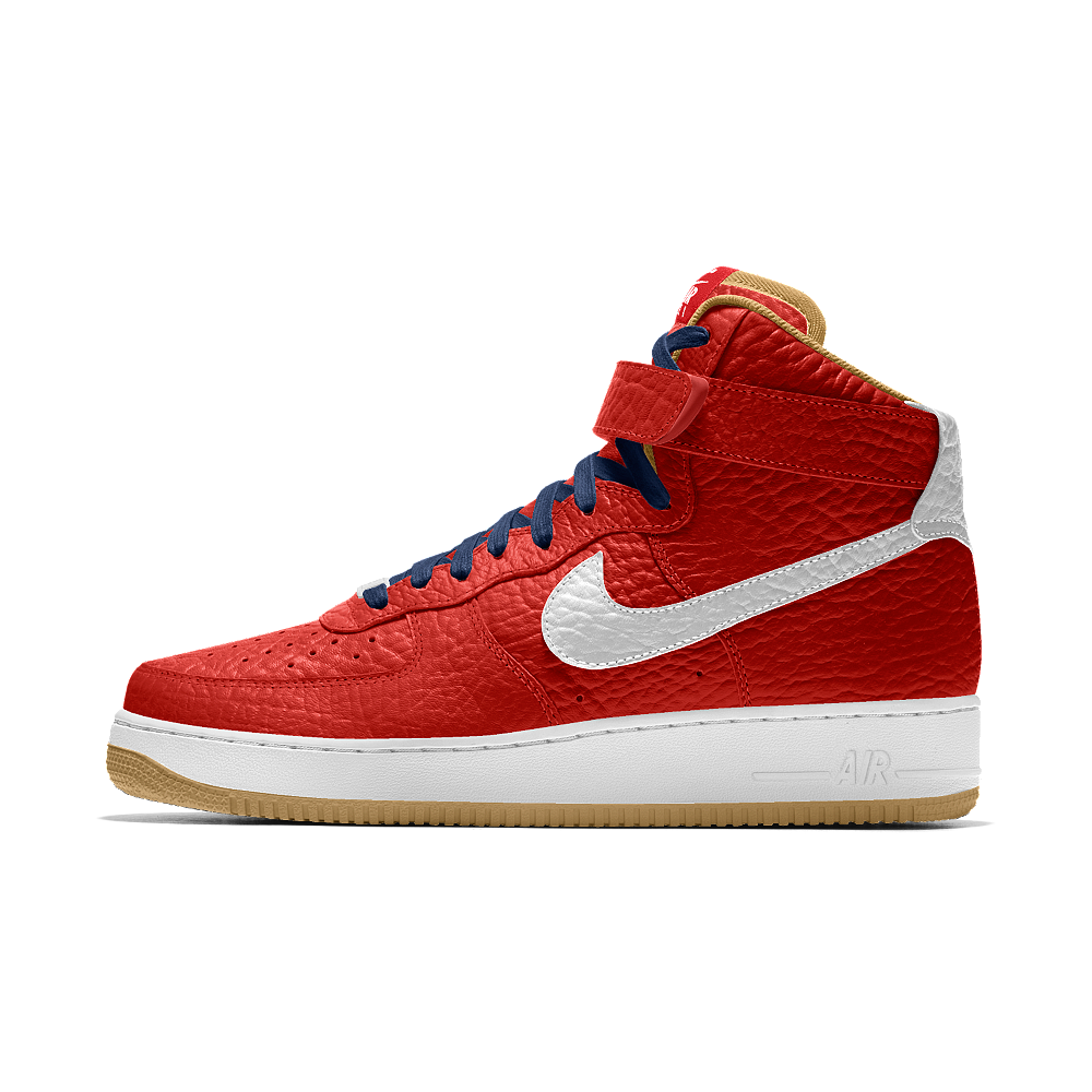 Nike Air Force 1 High Premium iD (New Orleans Pelicans