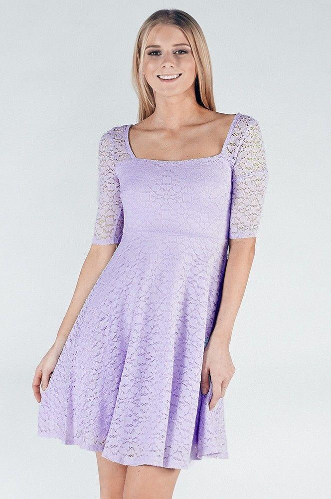 Kelsey Lavender Skater Dress | dresses | Pinterest | Dresses ...