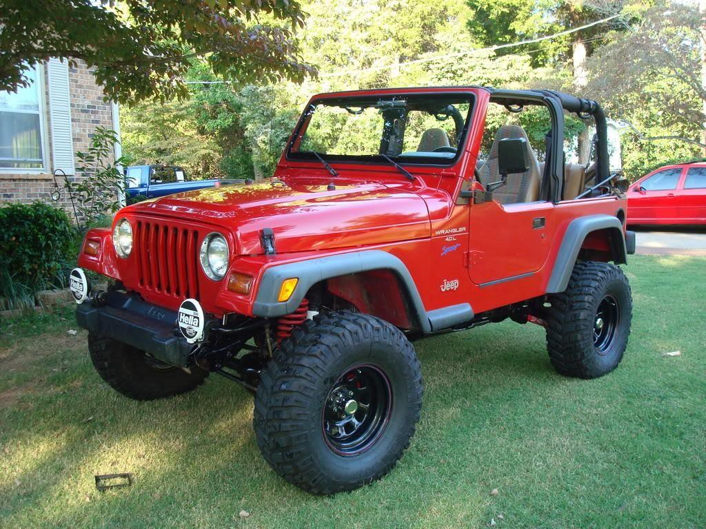 Custom Red Jeep Tj Jeep Tj Red Jeep Jeep