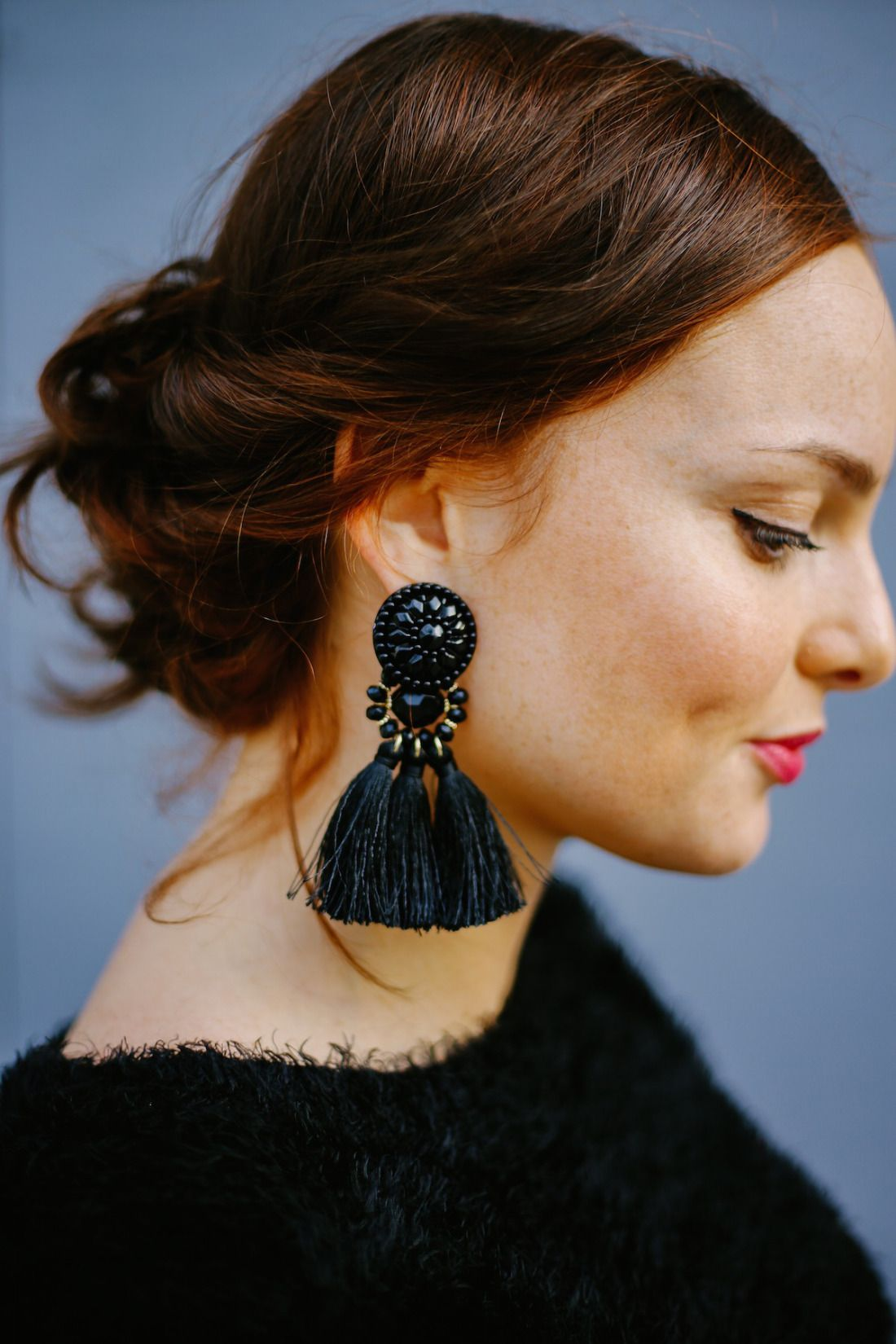 eb7085ec98dc0 pendientes de fiesta invierno blog moda earrings fashion blogger ...