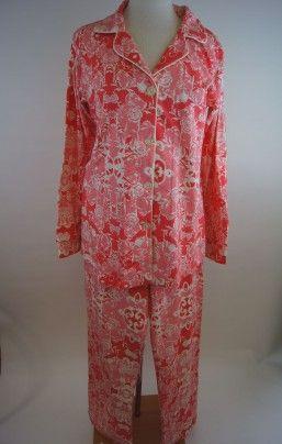 Bed Head Coral Floral Pajamas