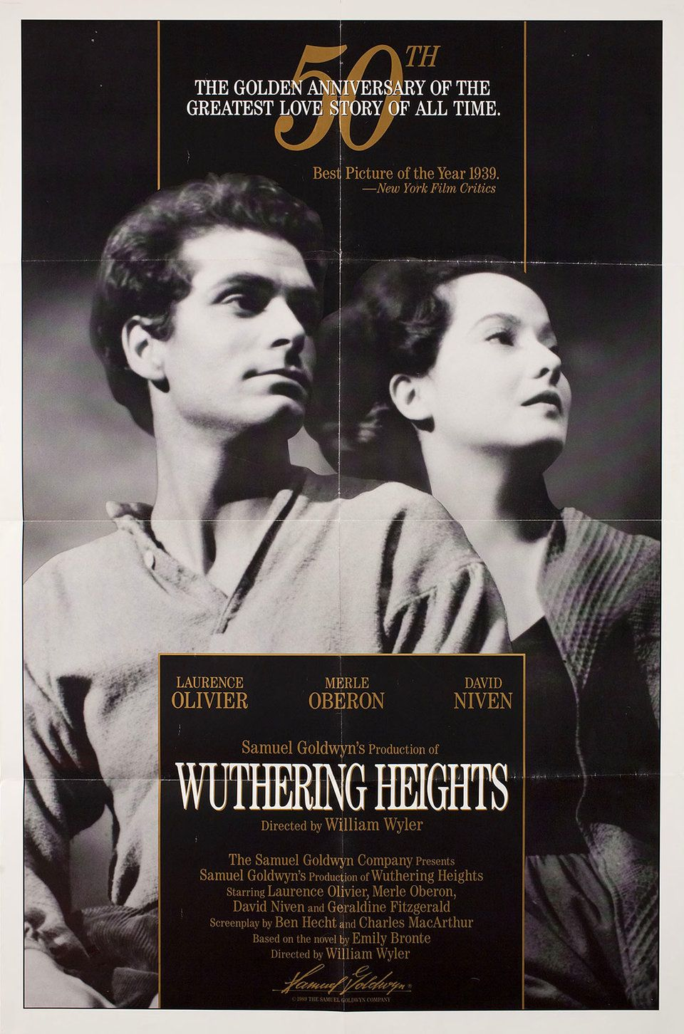 Wuthering Heights R1989 U.S. One Sheet Poster