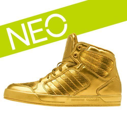 neo adidas gold shoes
