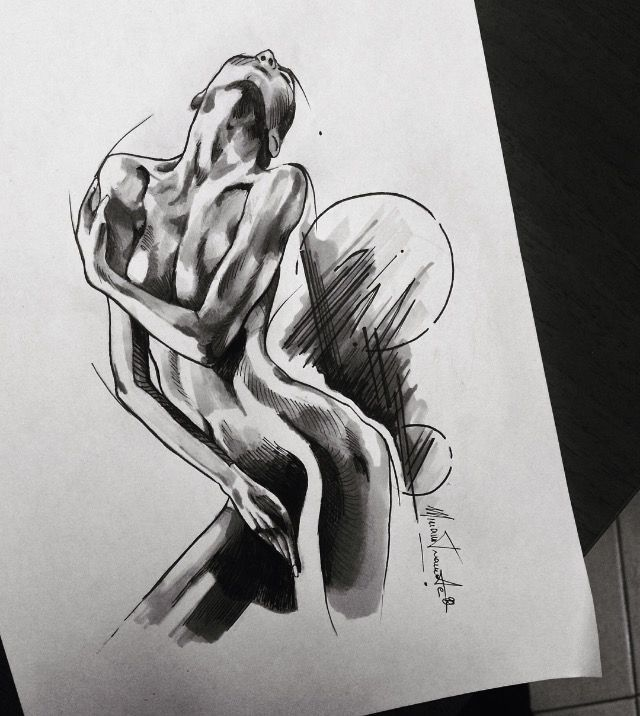 Drawings of women in erotic positions pic 83