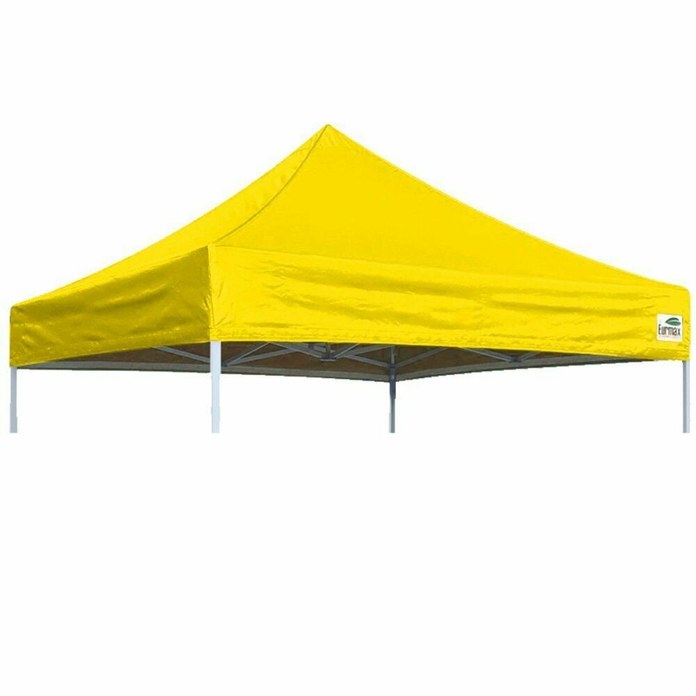 Advertisement Ebay 10 X10 Yellow Replacement Ez Up Pop Up Sunshade Canopy Top For Caravan Tent Replacement Canopy Canopy Tent Outdoor Pop Up Canopy Tent