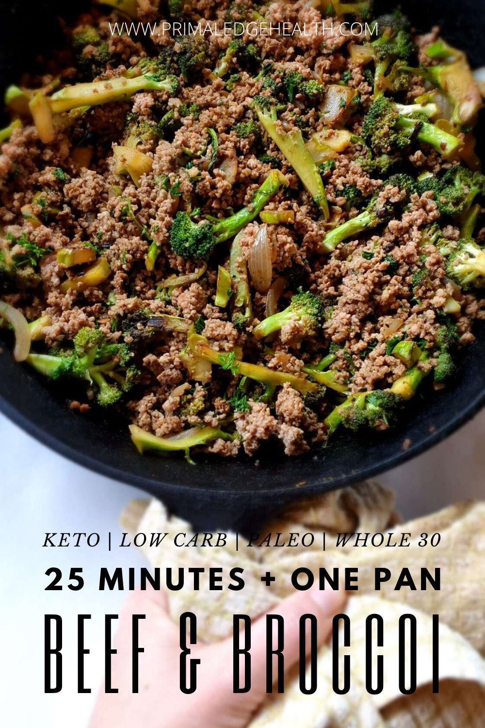 Ground Beef And Broccoli Stir Fry Keto Low Carb Dairy Free Paleo Recipe In 2020 Ground Beef And Broccoli Ground Beef Recipes For Dinner Ground Beef
