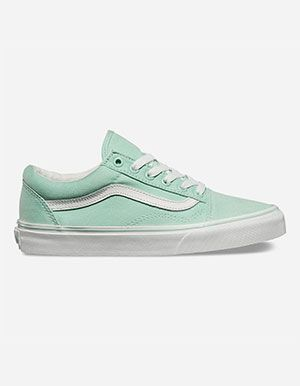 vans old skool mint
