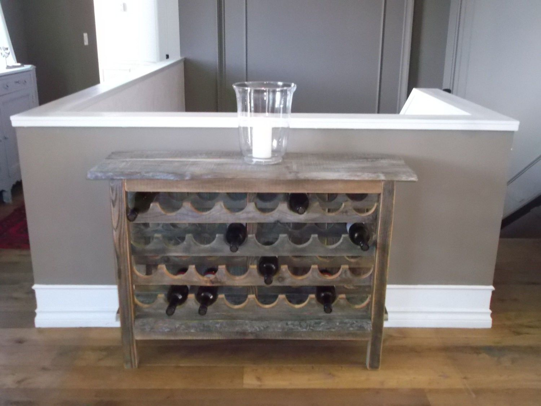 Image result for reclaimed wood wine rack | Rustic wine ...