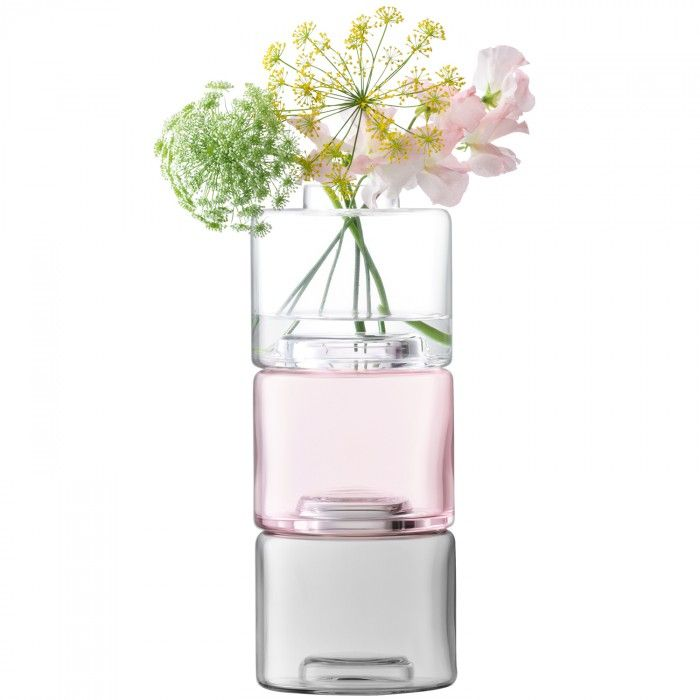 Stack Vase Trio Award Winning Stack Collection Pinterest Glass