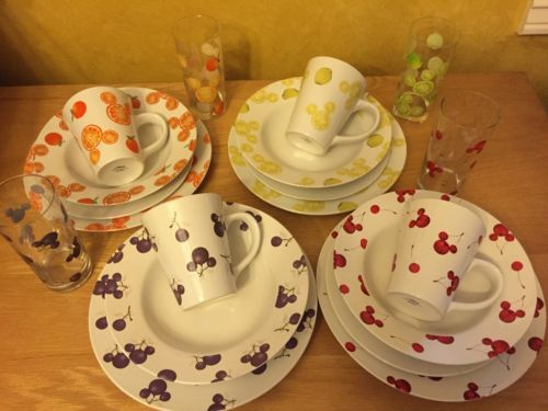Mickey Mouse Vintage Dinnerware & Mickey Mouse Vintage Dinnerware   I Luv Mickey   Pinterest   Vintage ...