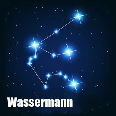 Sternenbild wassermann