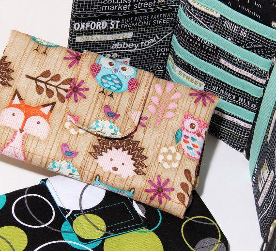 Wallet Pattern PN209 Womens Tri-fold Cash Wallet Sewing Pattern by ...
