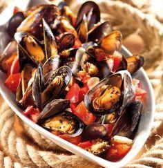 GOSCH Sylt | Miesmuscheln in Tomaten-Knoblauch-Sud #mexicanshrimprecipes