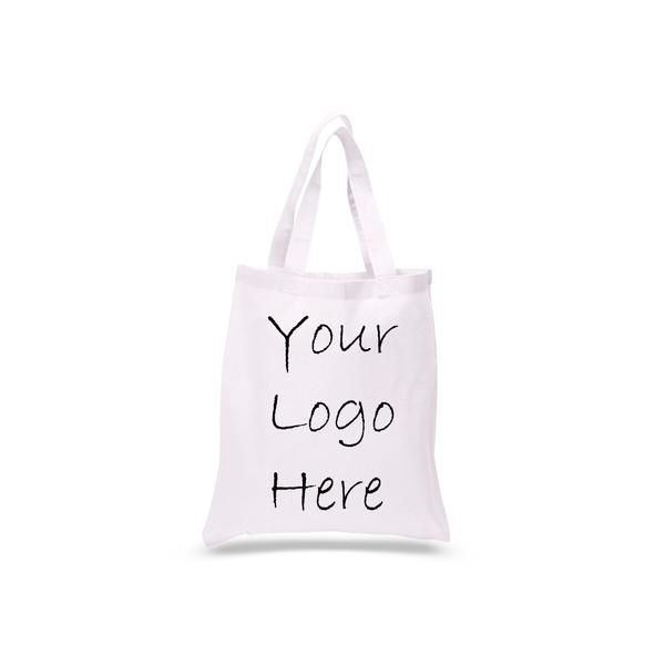 Cotton Tote Bag With 1 Color Logo Print Tb100
