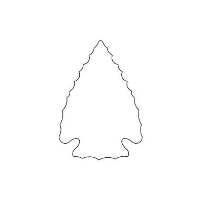 Arrowhead template to print bing images for Arrowhead plaque template