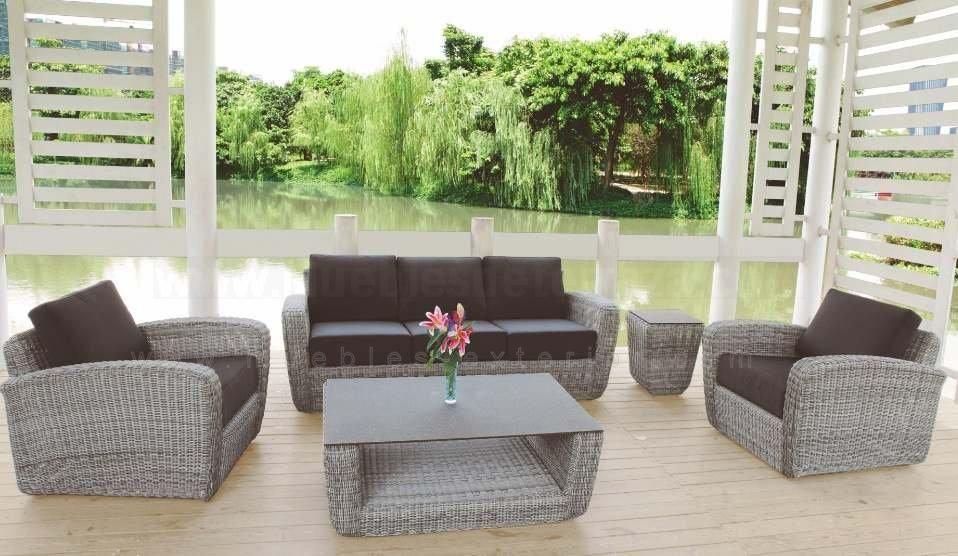 Mesa de centro Benahavis - Muebles de terraza y Jardín   Muebles ...