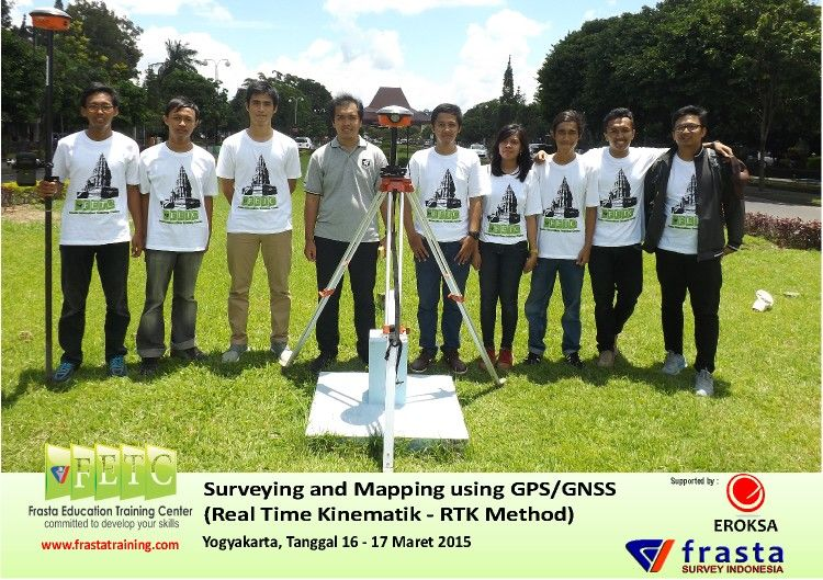 Training Surveying and Mapping using GPS/GNSS( Real Time Kinematik
