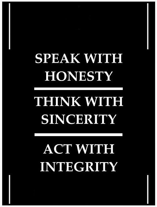 Pin by Monica Deel on QUOTES | Integrity quotes, Positive ...