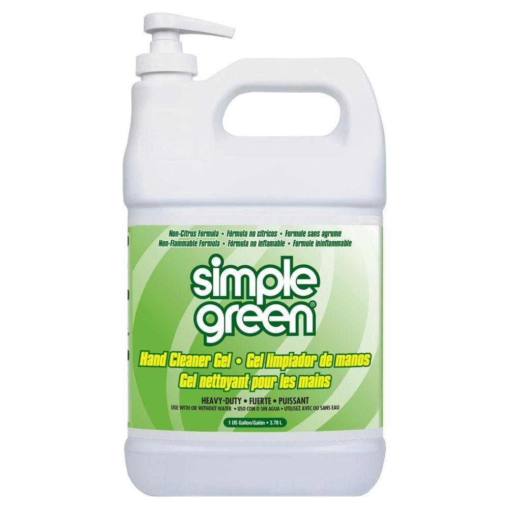 Simple Green 1 Gal Hand Cleaner Gel Case Of 4 Simple Hand
