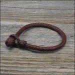 Brown Kangaroo Leather Bracelet