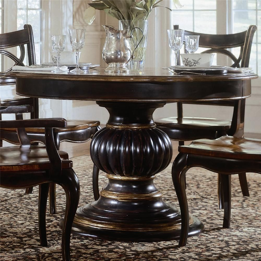 pedestal dining room table. preston ridge pedestal dining table by hooker furniture room