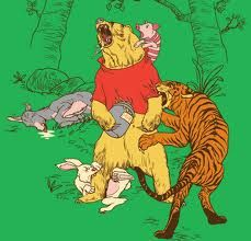 Winnie the pooh in reality...