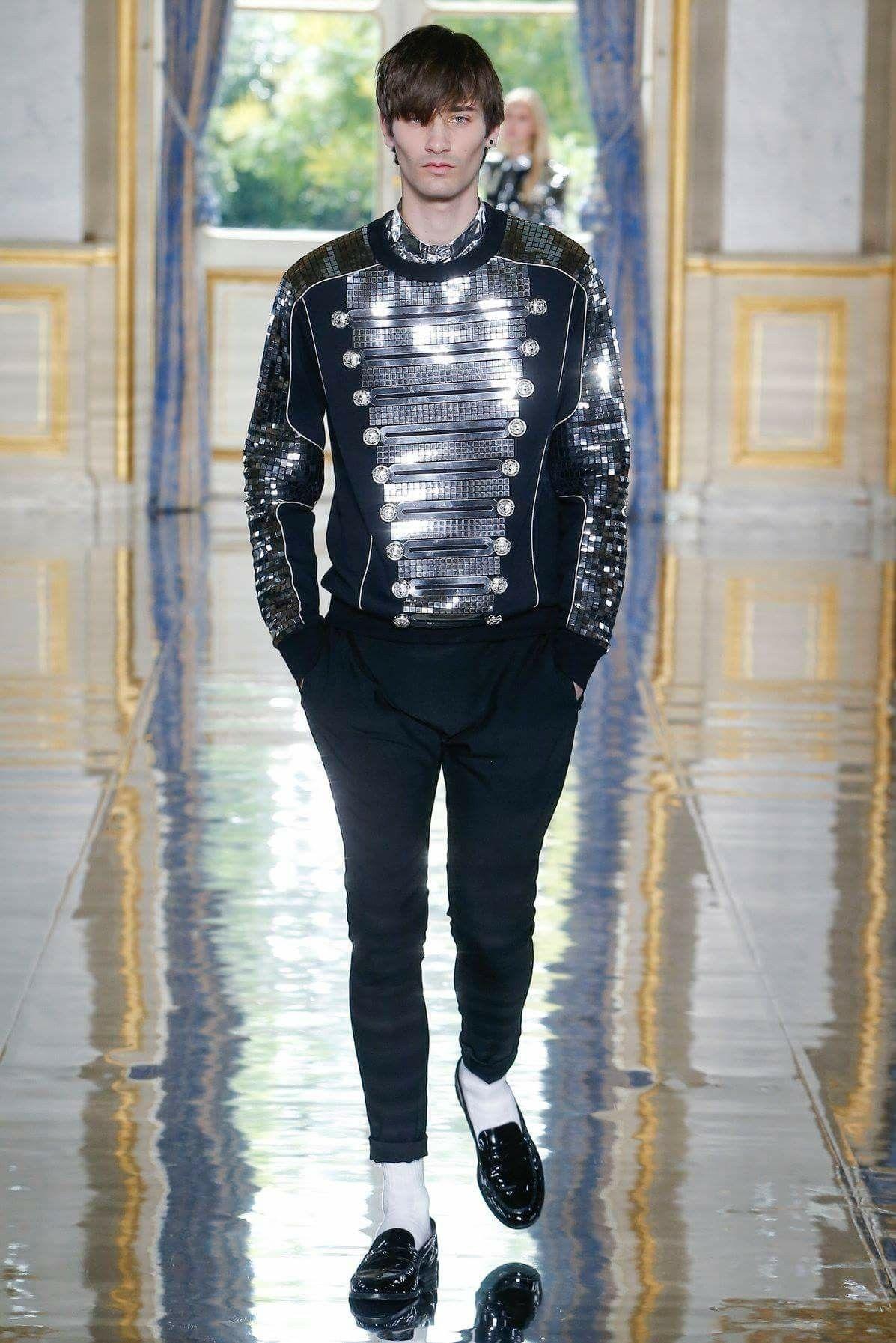 176bdd07 Balmain SS19 | Eccentric Me in 2019 | Fashion, Mens fashion:__cat__ ...