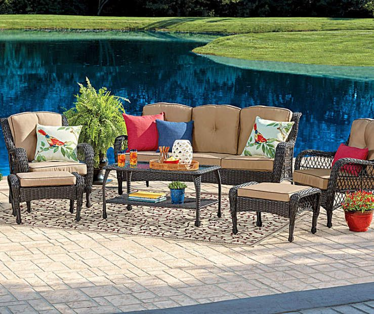source outdoor furniture sierra wicker. I Found A Wilson \u0026 Fisher Pinehurst Patio Furniture Collection At Big Lots For Less. Source Outdoor Sierra Wicker F