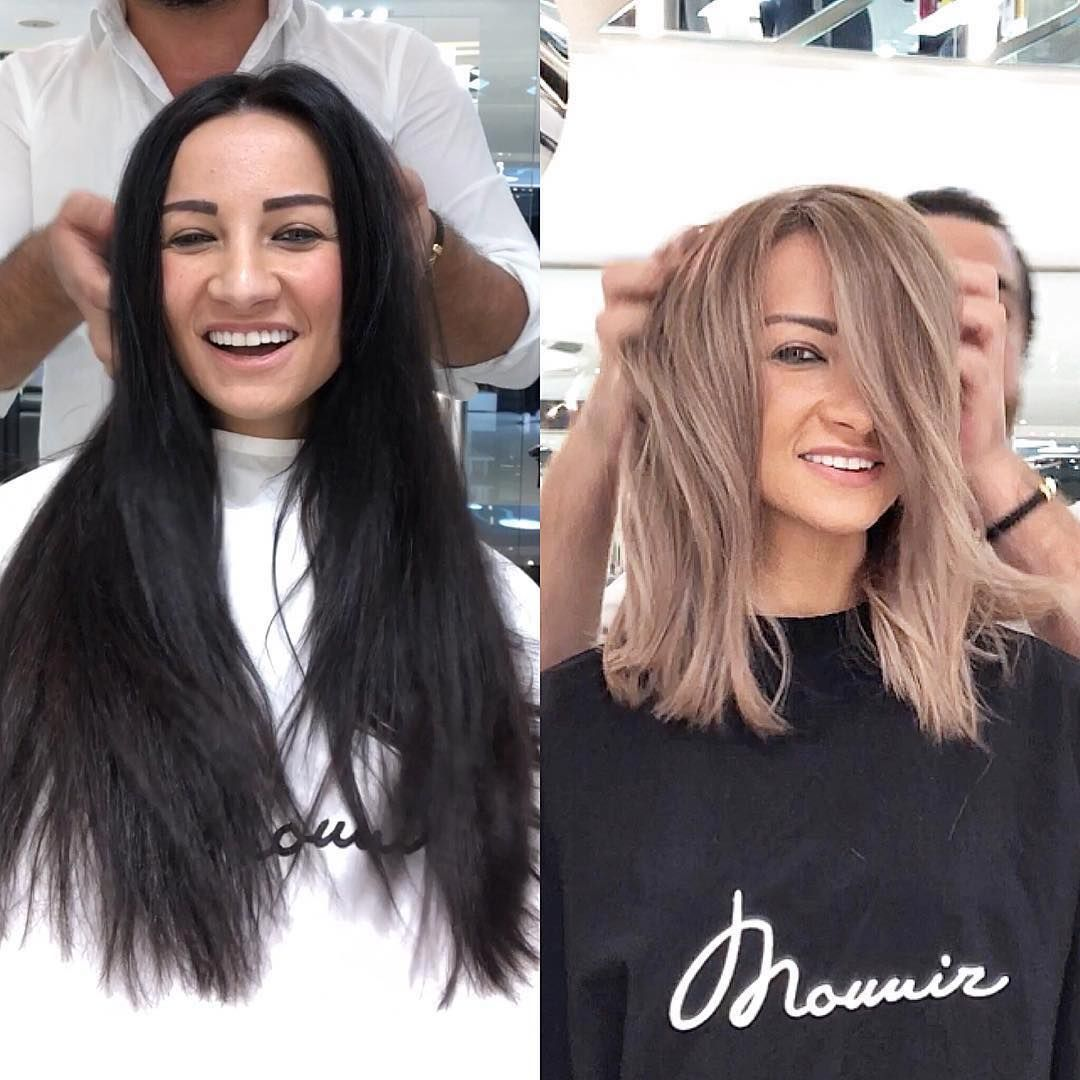 Repost Mounir Black To Blonde Before And After Hair