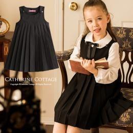 328a814b18e4d 子供服 女の子 フォーマル プリーツジャンパースカート 入学式 卒園式 ...