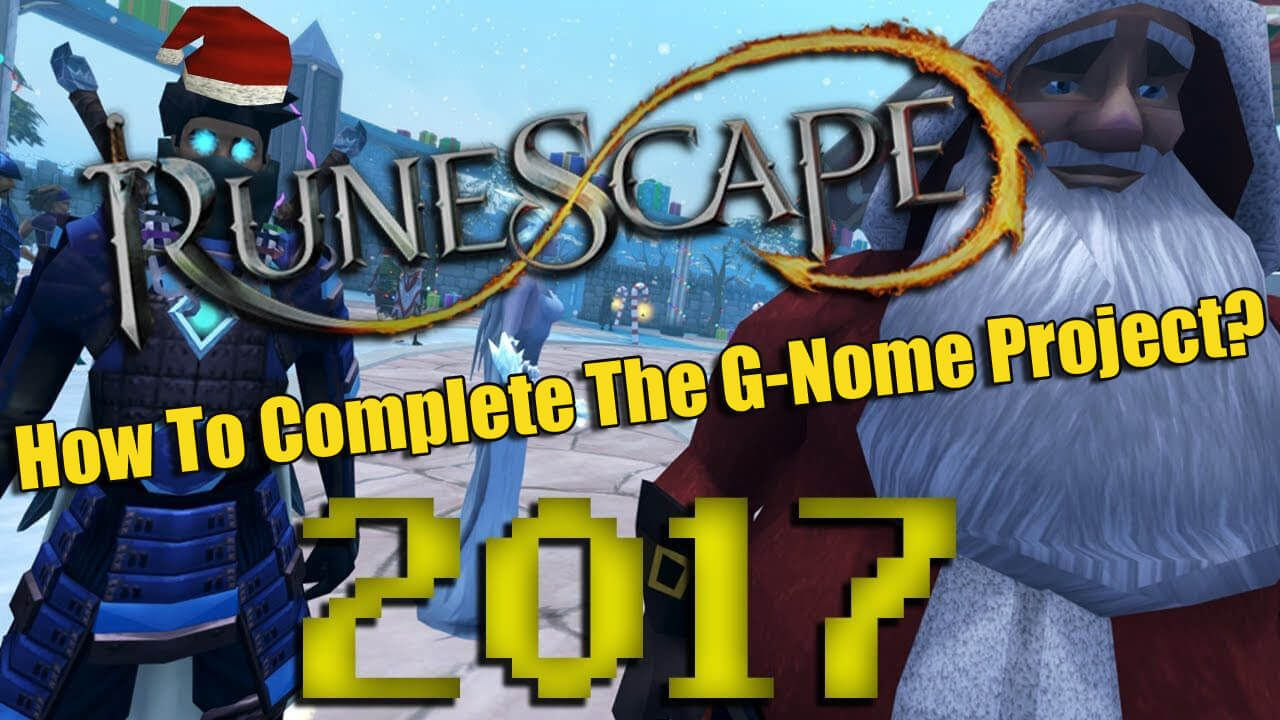 How To Complete The Runescape G-Nome Event | 2007RunescapeGold ...