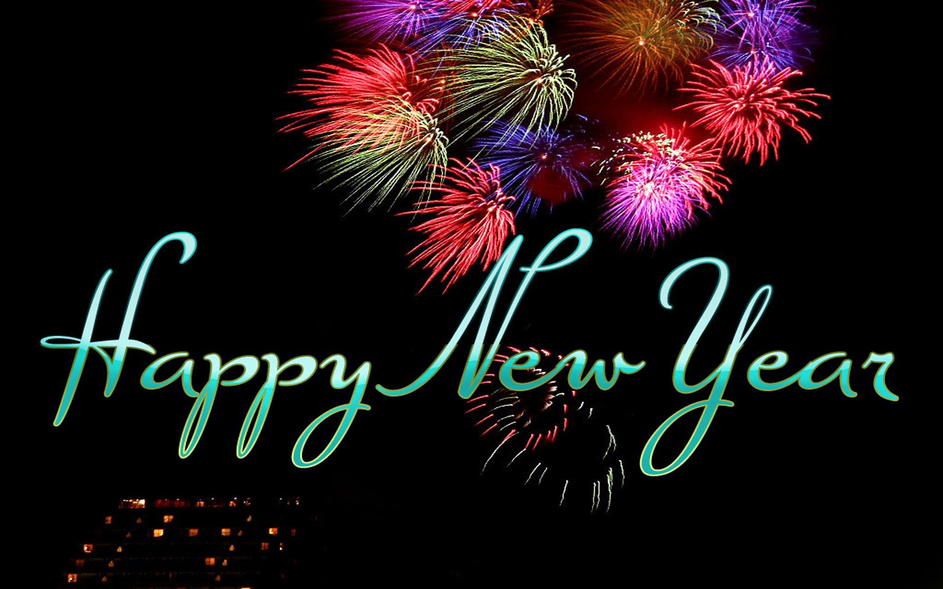 Happy New Year Wallpaper  Happy new year images, Happy new year