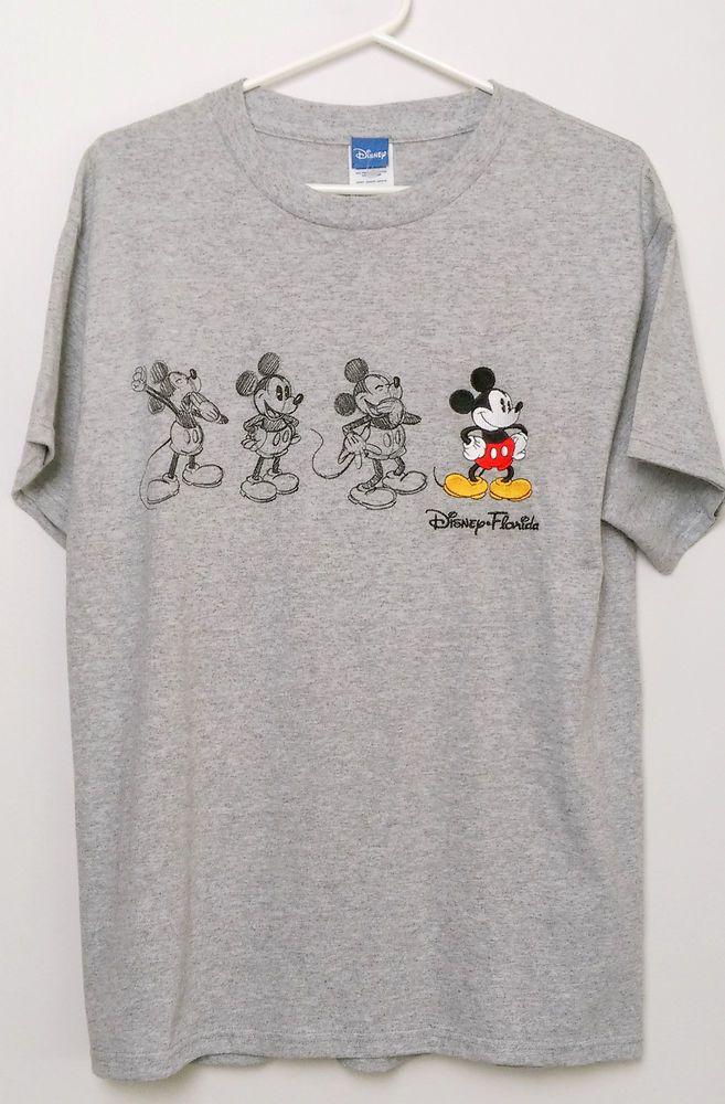 Kids Long Sleeve T-Shirt White Mickey Sketch Disney Mickey Mouse Girls Top